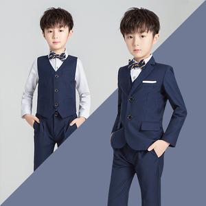儿童西装套装男童花童礼服韩版中大童男孩小西服外套钢琴演出服潮