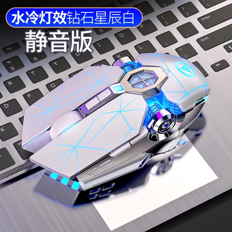 电竞光电有线无声静音游戏鼠标GbWZGm