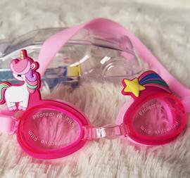 外贸单 卡通款防雾防紫外线 儿童游泳防水眼镜/游泳镜 游泳装备