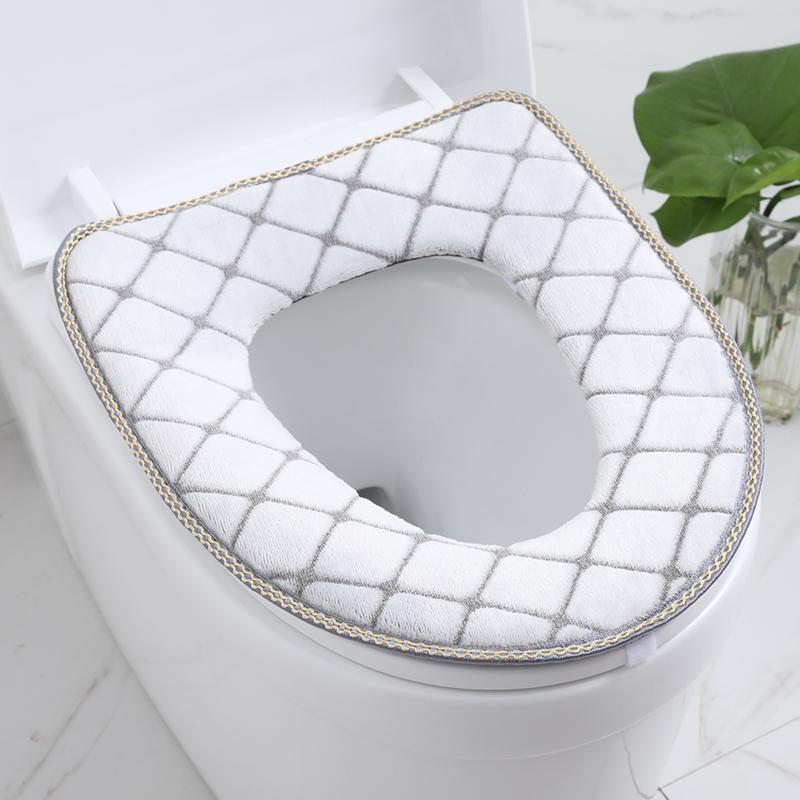 马桶贴坐垫粘贴式家用秋冬季垫子