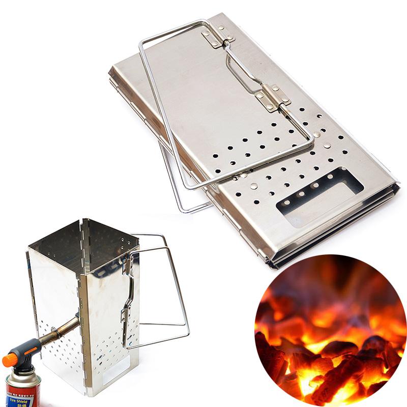 户外bbq加厚不锈钢折叠点生烧烤架