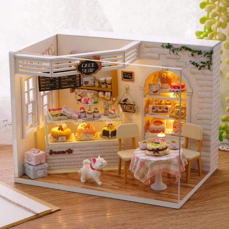 欧式生日礼品送女生创意手工diy蛋糕屋女朋友特别精致小礼物男友11月30日最新优惠