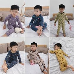 儿童睡衣男童秋冬新款2020纯棉冬季宝宝家居服套装秋衣秋裤两件套