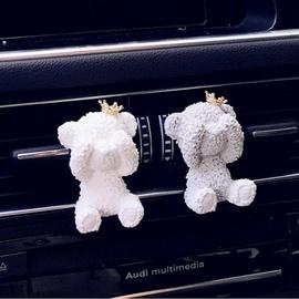 汽车香水 专用于宝马奔驰奥迪大众 车载香水 空调出风口瓢虫香水