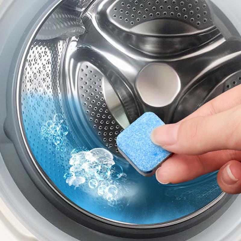 洗衣机槽清洗剂泡腾片滚筒式消毒杀菌泡腾清洁片污渍神器除垢家用