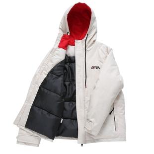 冬新款情侶裝外套加厚棉衣 bf寬鬆工裝羽絨棉短款學生ins麪包服女