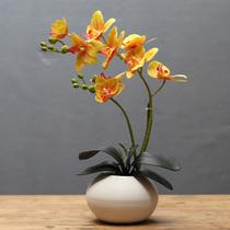 室内客厅门窗墙壁装饰壁挂花篮卧室墙壁塑料仿真花假花盆栽小套装