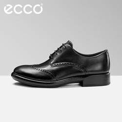 ECCO爱步2018新款男正装皮鞋 商务潮流青年秋季鞋 匠心634814