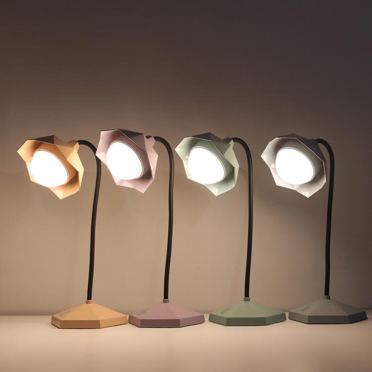 11月09日最新优惠台灯护眼书冷暖交替可USB可充电式LED宿舍学习大学生创意床头夜灯
