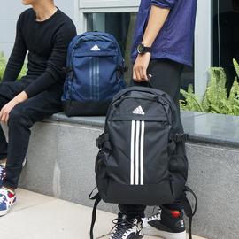 阿迪达斯双肩包男书包中学生 初中生高中女学生校园大容量旅行包