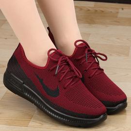 老北京布鞋女棉鞋春秋加绒保暖运动休闲妈妈鞋跑步鞋中老年健步鞋图片