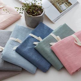 日式水洗棉床笠单件全棉100%纯棉床罩定做床垫套席梦思保护套定制