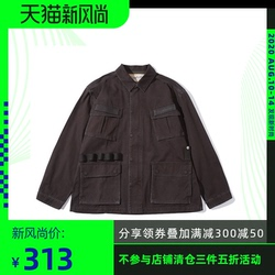 蓝布屋重磅多口袋工装军事风jungle shirt衬衫阿美咔叽夹克外套男