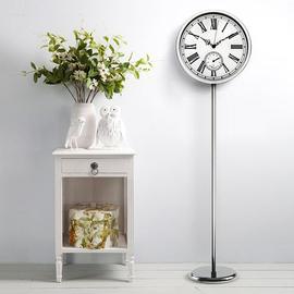 汉时简约立式钟欧式钟表家用装饰立钟创意客厅落地钟时尚挂钟HG78