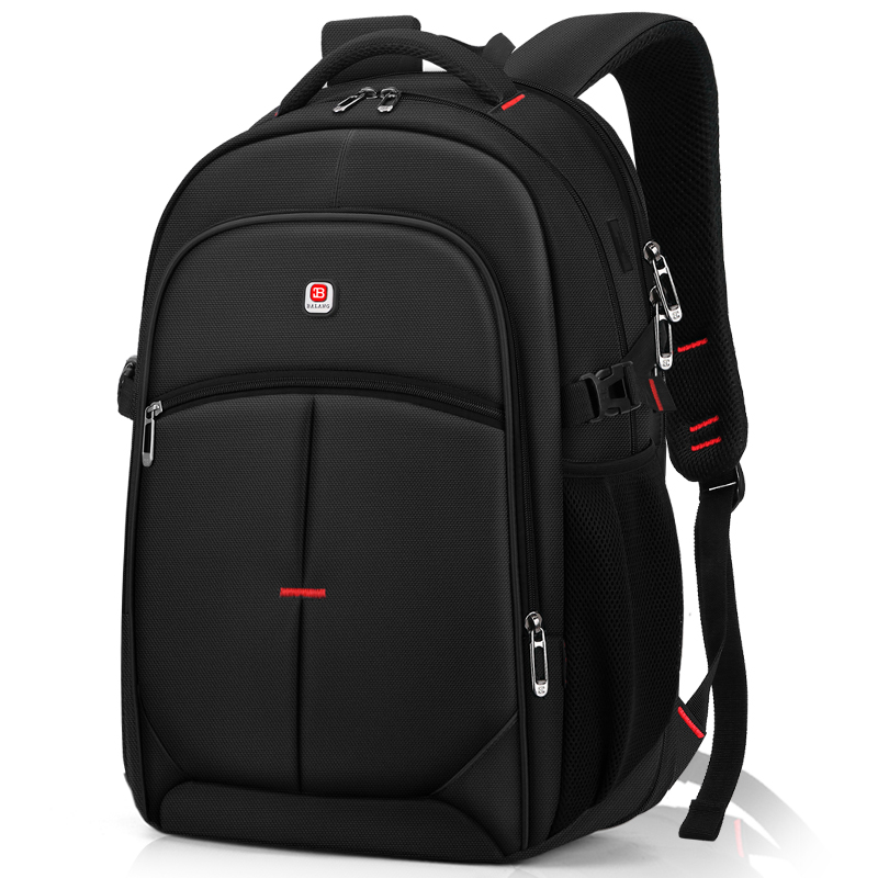 Large capacity men's backpack leisure travel travel computer backpack female high school junior high school student school bag college student