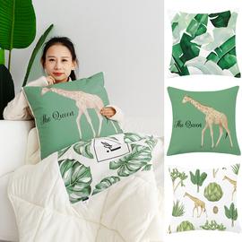 北欧清新文艺ins抱枕被子两用汽车抱枕被加厚空调被子多功能靠枕图片