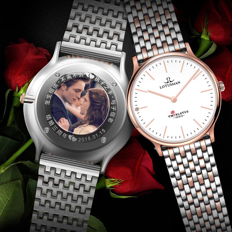680.00元包邮法国罗蒂诗蔓dw情侣一对男士手表