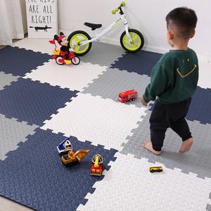 环保客厅拼图地板垫子爬行垫宝宝大号加厚泡沫地垫拼接榻榻米家用