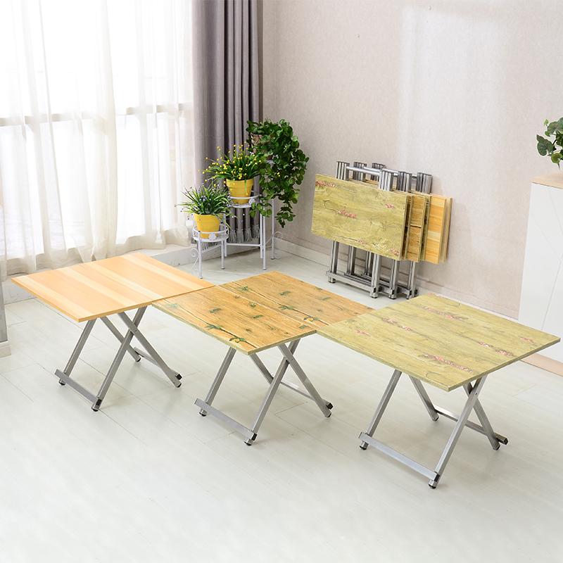 家用简易手提折叠桌子户外烧烤摆摊野餐写字吃饭方形便携式小餐桌