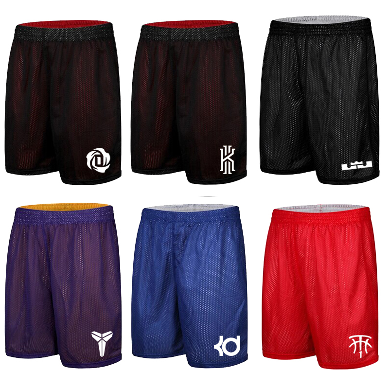Owen Ross kobe basketball pants loose size shorts mens breathable quick dry training double layer Capris summer
