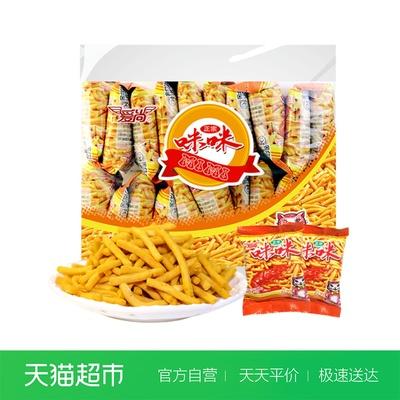 咪咪虾条360g爱尚好吃膨化零食年味大礼包网红休闲怀旧小吃