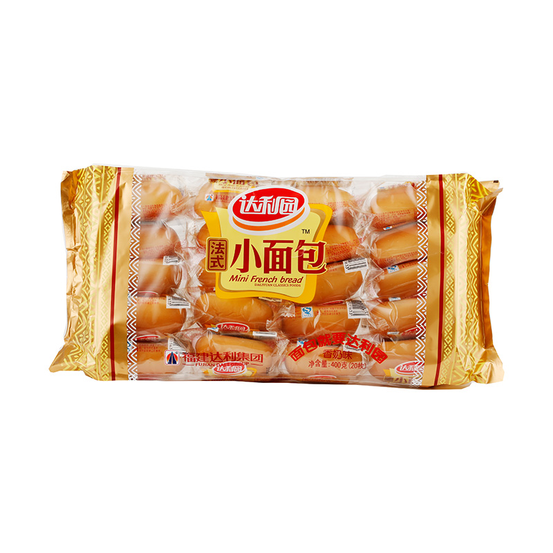 达利园法式香奶面包面包片法棍牛角包400克/袋小面包食品营养