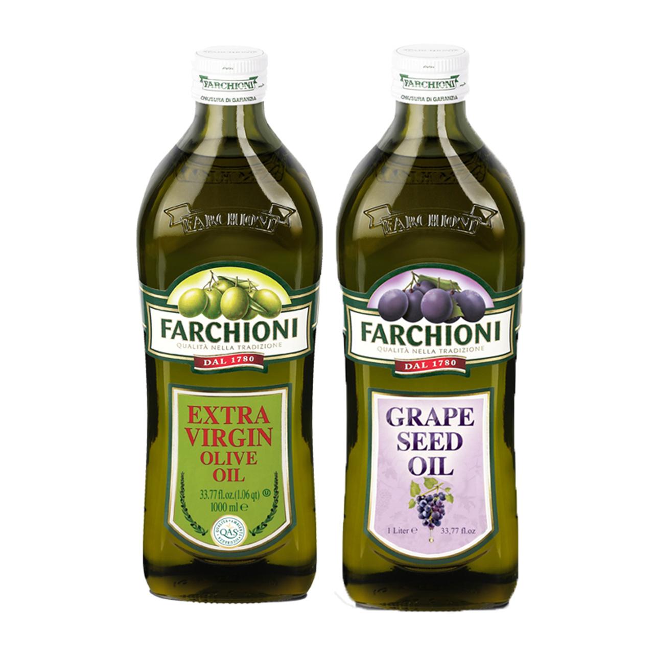 Италии оригинальный импортный благословение странный специальная марка рано экстракт оливки масло 1L+ виноград семена масло 1L