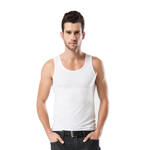 Antarctic men's waistcoat pure cotton youth breathable body-building body-tight exercise, bottoming and sweat absorption summer tide