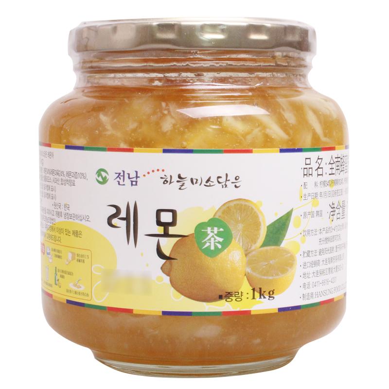 ~天貓超市~韓國 衝飲 全南 蜂蜜檸檬茶 1kg