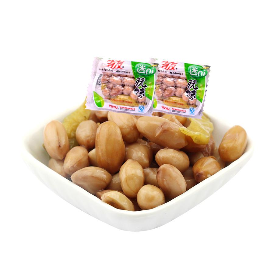 ~天貓超市~有友 玩味泡椒花生500g大包裝 重慶味道特產零食