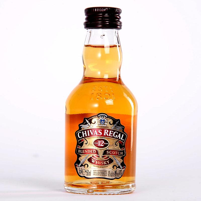 ~天貓超市~英國 芝華士12年蘇格蘭威士忌50ml 洋酒酒伴