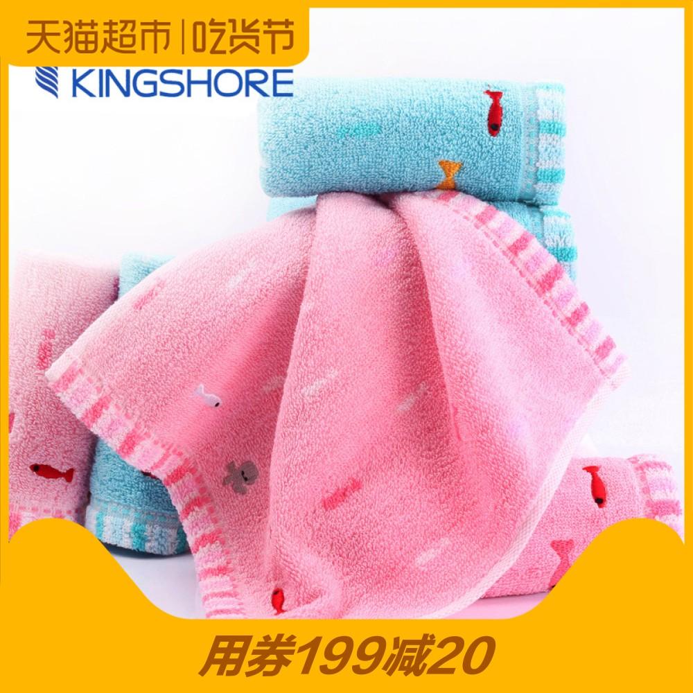 Золото номер чистый хлопок утолщённый полотенце ребенок ребенок нагрудник ребенок мыть волосы полотенце