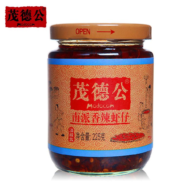 ~天貓超市~茂德公香辣蝦仔醬225g辣椒醬肉醬下飯菜海鮮醬