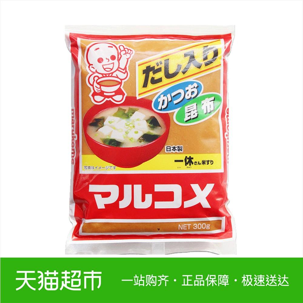 日本进口 丸米一休味噌300g日本大酱 味增酱 豆瓣酱