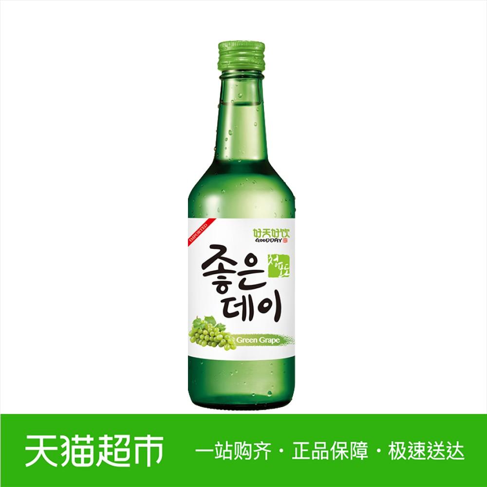 韩国进口好天好饮青葡萄味果味烧酒清酒配置酒 12.5%VOL 360ml
