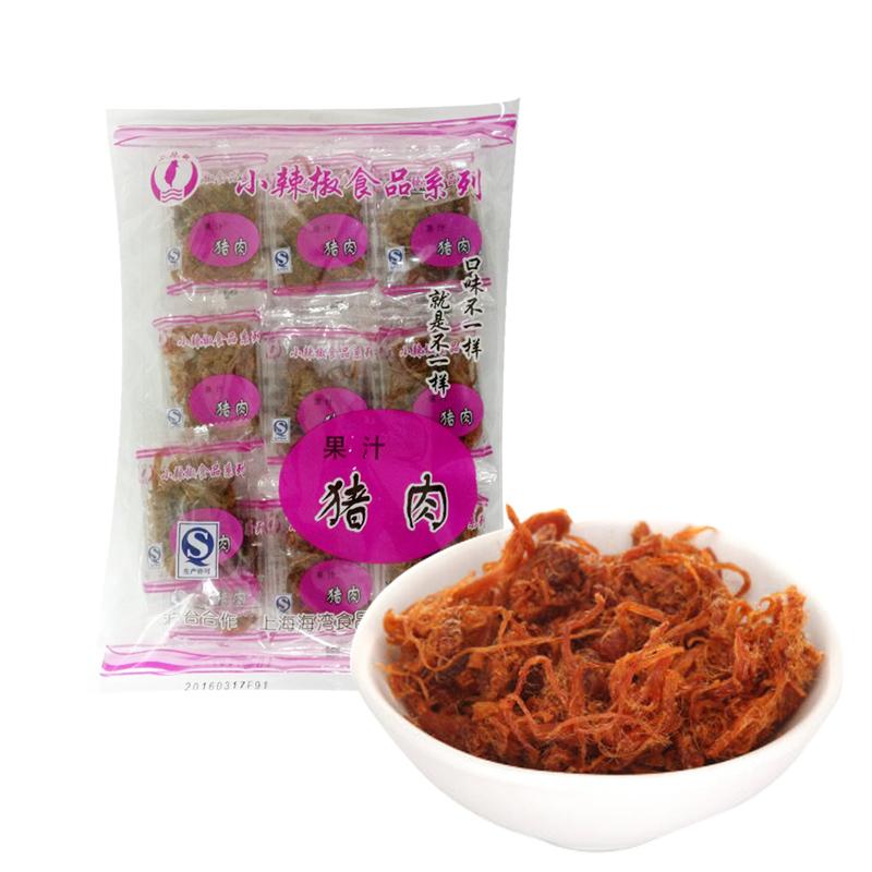 ~天貓超市~小辣椒 果汁豬肉110g 獨立包裝 零食 風味