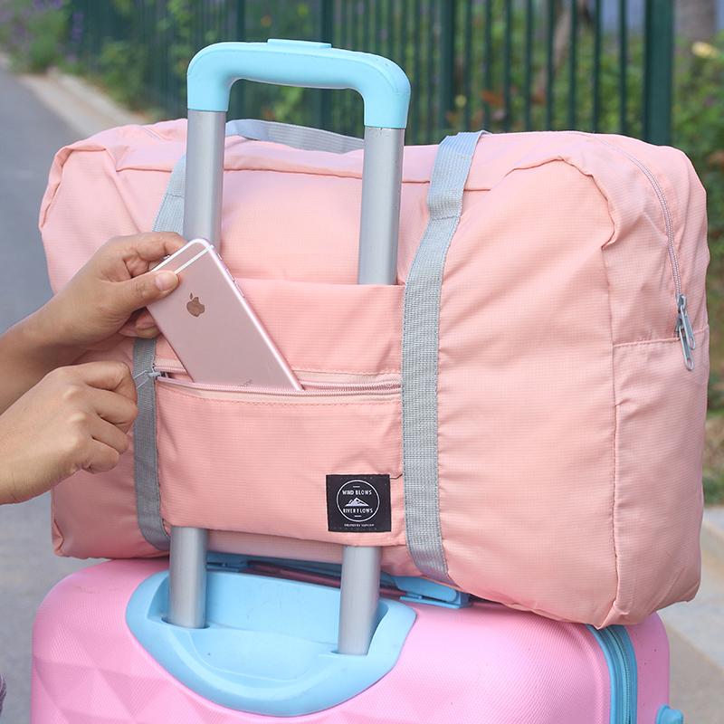 拉杆包手提行李袋大容量折叠袋子