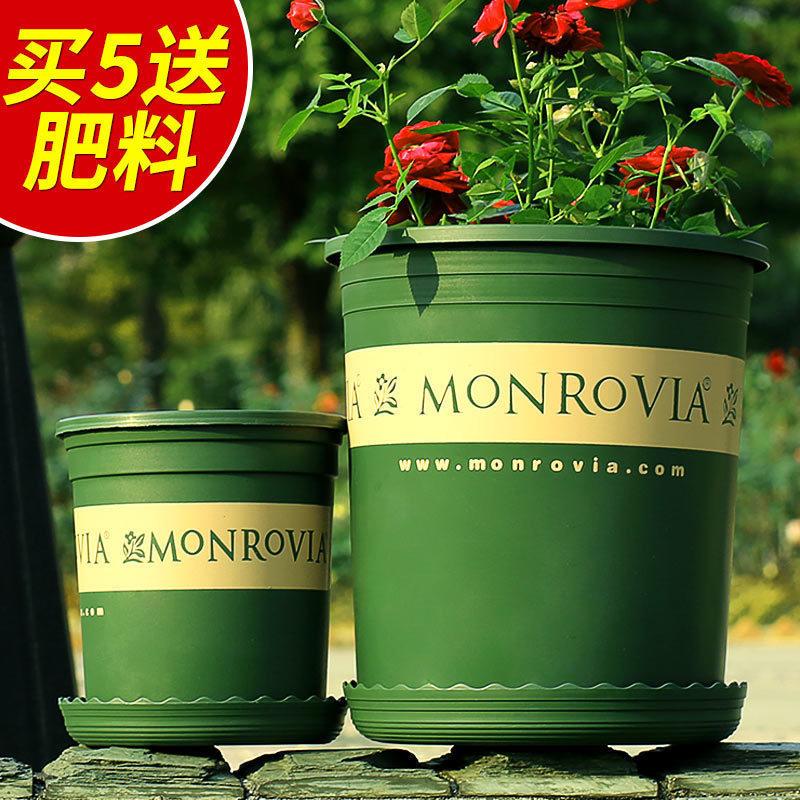 花盆塑料树脂加仑花盆阳台种花种菜花盆多肉绿萝园艺月季花盆