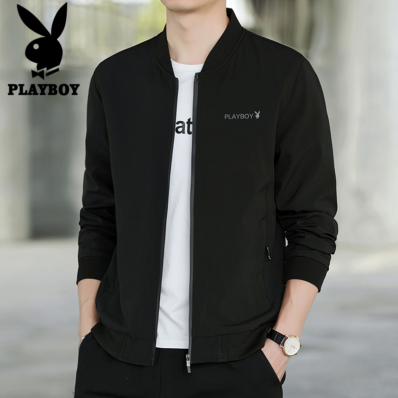 Playboy flagship spring and autumn 2020 new men's jacket baseball suit ruffian handsome coat Korean Trend men's wear