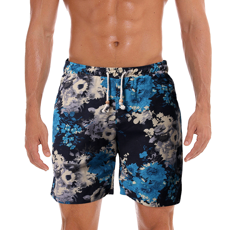 Xz304b-k67-p15 special running beach shorts mens foreign trade mens casual shorts outer model