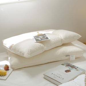 天然乳胶颗粒舒睡枕全棉单人护颈枕