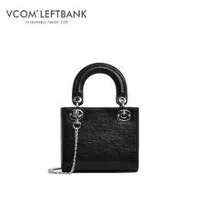 Genuine leather ladies'bag 2019 fashionable Single Shoulder Handbag oblique bag are very good for Julie's Dai Fei bag