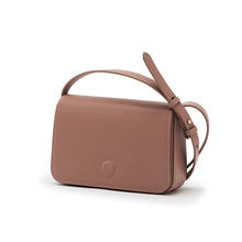 STARTOWN New Style Square Bag ins Retro Cotton Leather Box Bag with One Shoulder Slanting Woman Bag