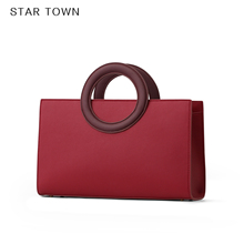 STARTOWN Small Crowd Design Baggage Girl 2019 New Handbag Slanting Baggage Girl Bride Red Marriage Bag