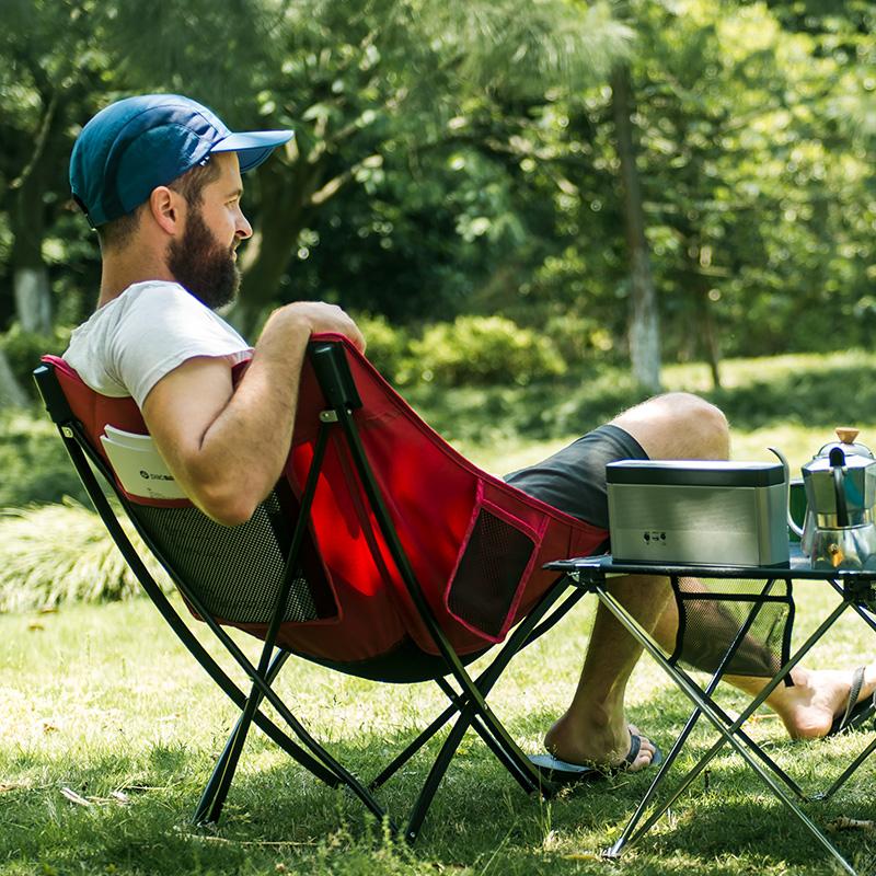 nh挪客户外折叠便携简易沙滩钓鱼凳