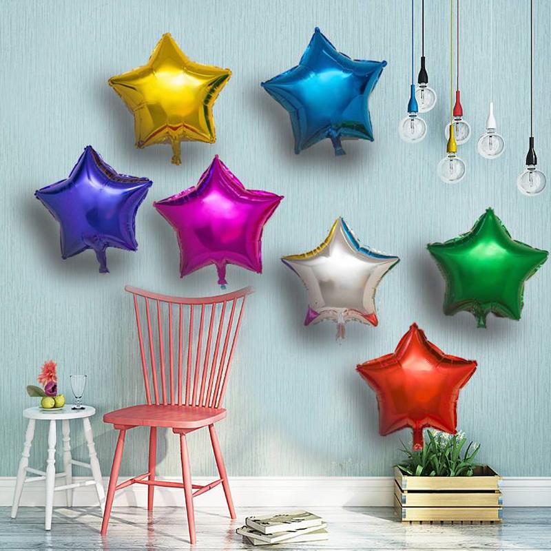 感恩活动五角星形铝膜生日周岁气球券后1.10元