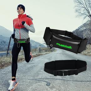 专业马拉松跑步手机腰包男士户外多功能运动健身装备防水壶腰带女