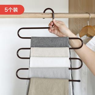 5个多功能裤子多层家用衣柜裤架