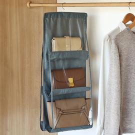 包包收纳挂袋挂式门后布艺防尘家用衣柜收纳架宿舍神器衣厨置物袋图片