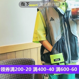Nike ACG 2019耐克春夏户外机能风休闲运动夹克马甲 BQ7290-041
